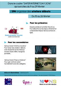 Affiche safer Internet Daygimp
